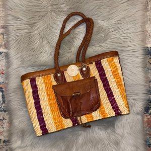 Jeanne Beatrice La Mer market bag